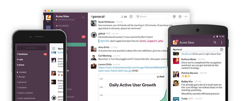 Slack - free productivity tools